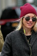 NAOMI WATTS Out and About in New York 01/03/2017