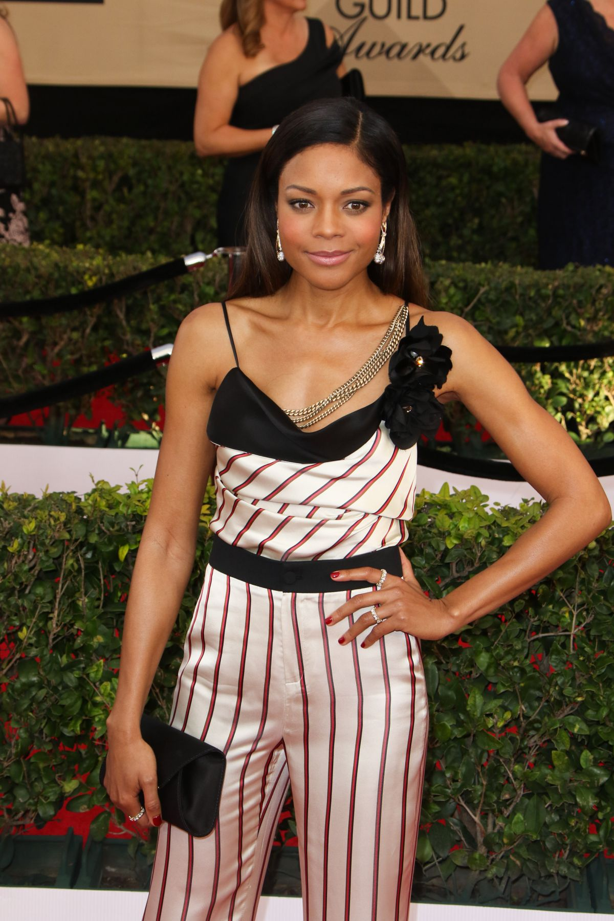 NAOMIE HARRIS at 23rd Annual Screen Actors Guild Awards in Los Angeles 01/29/2017