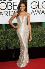 NAOMIE HARRIS at 74th Annual Golden Globe Awards in Beverly Hills 01/08/2017