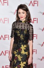 NATALIA DYER at 17th Annual AFI Awards in Los Angeles 01/06/2017