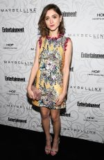 NATALIA DYER at Entertainment Weekly Celebration of SAG Award Nominees in Los Angeles 01/28/2017