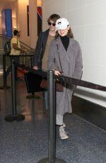 NATALIA DYER at Los Angeles International Airport 01/09/2017