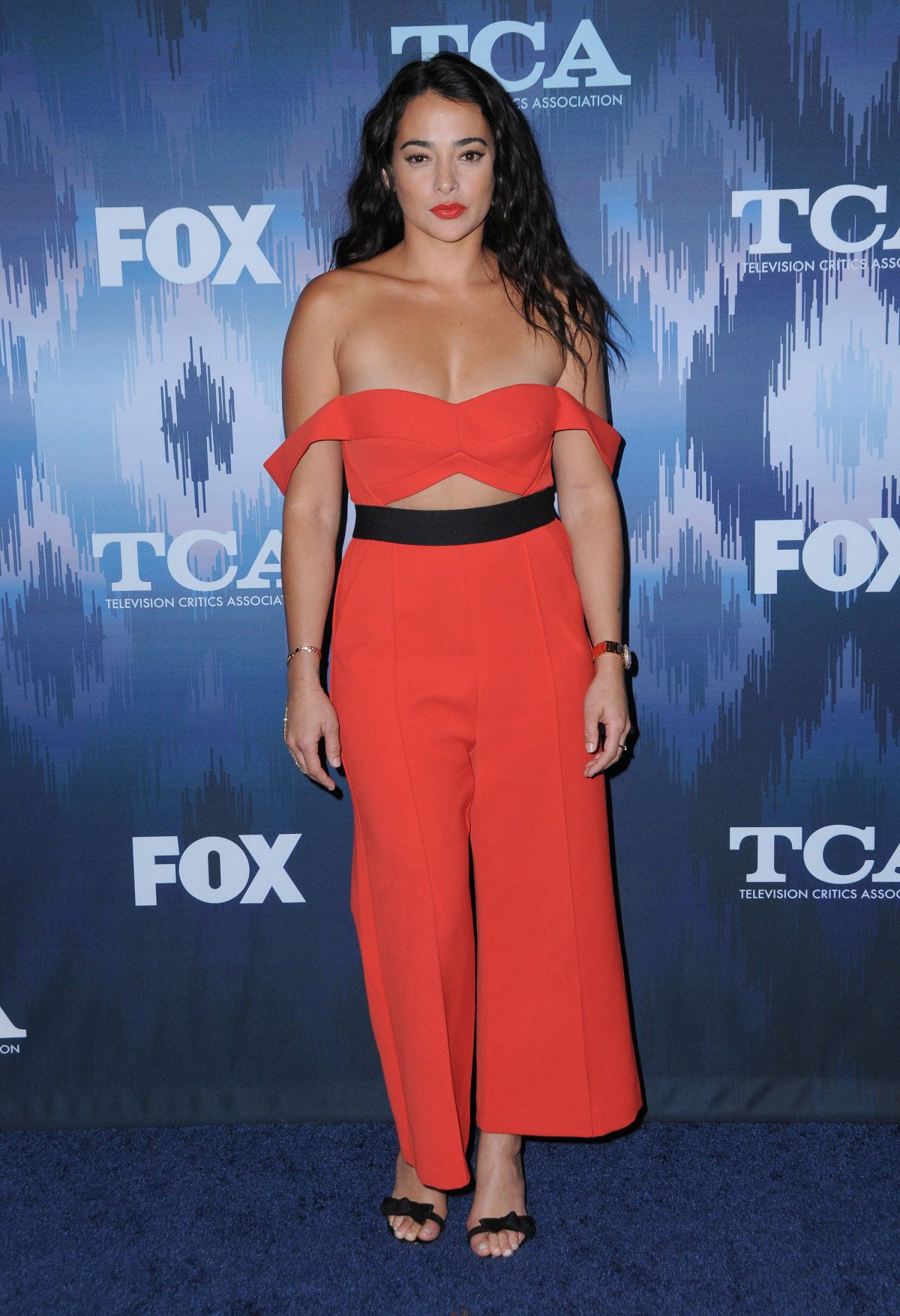 NATALIE MARTINEZ at Fox All-star Party at 2017 Winter TCA Tour in Pasadena 01/11/2017