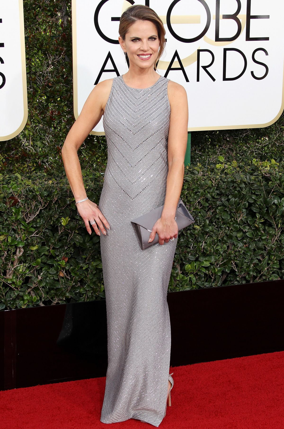 NATALIE MORALES at 74th Annual Golden Globe Awards in Beverly Hills 01/08/2017