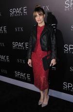 NATALIE MORALES at 'The Space Between Us' Premiere in Los Angeles 01/17/2017