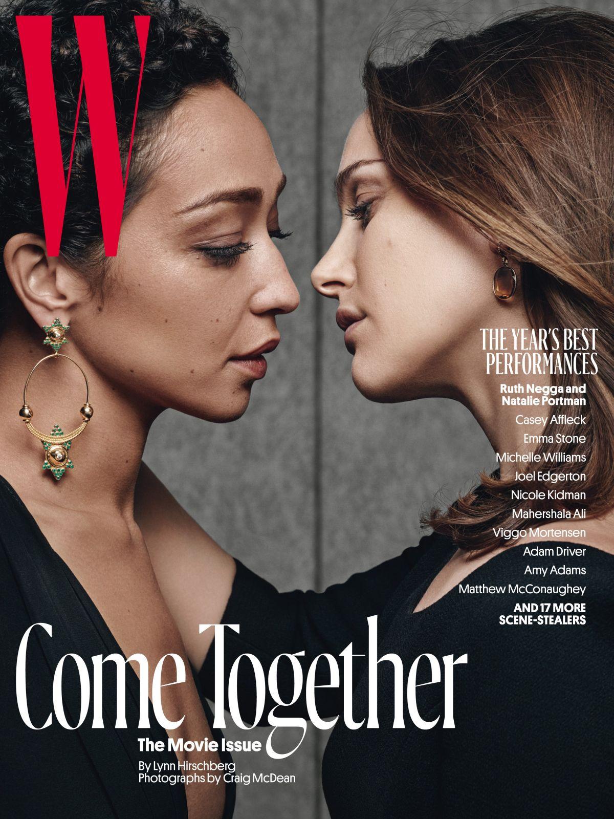 NATALIE PORTMAN in W Magazine, February 2017 Issue
