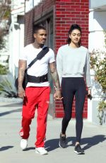 NEELAM GILL Out with Boyfriend in West Hollywood 01/27/2017