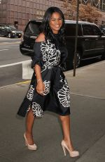 NIA LONG Arrives at Harry Talk Show in New York 01/12/2017