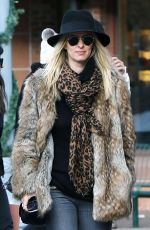 NICKY HILTON and James Rothschild Out in Aspen 12/31/2016