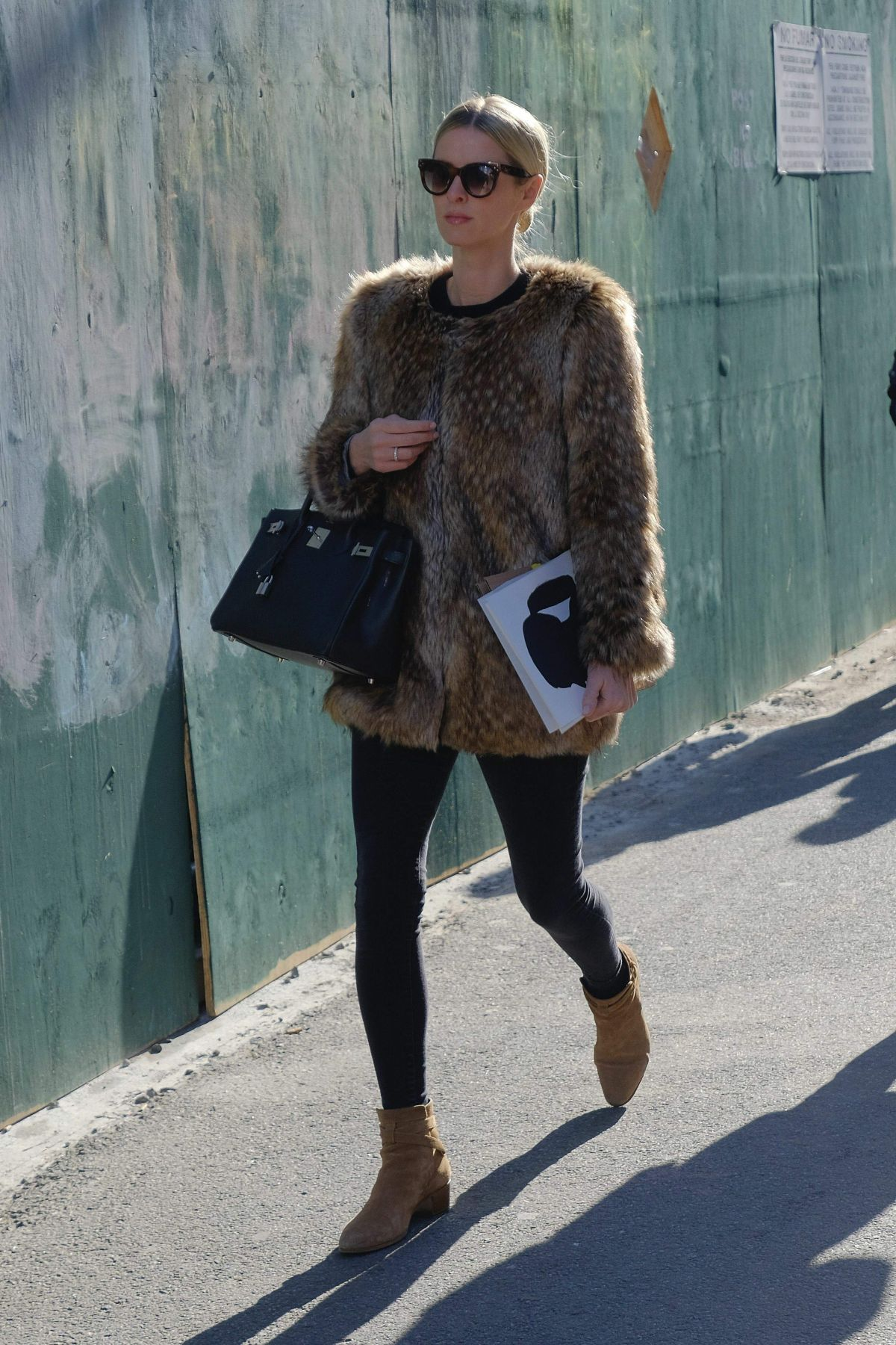 NICKY HILTON Out and About in New York 01/30/2017