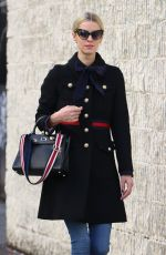 NICKY HILTON Out in New York 01/12/2017