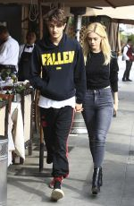 NICOLA PELTZ and Anwar Hadid Out in Beverly Hills 01/18/2017