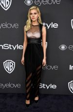 NICOLA PELTZ at Warner Bros. Pictures & Instyle's 18th Annual Golden Globes Party in Beverly Hills 01/08/2017