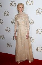 NICOLE KIDMAN at 28th Annual Producers Guild Awards in Beverly Hills 01/28/2017