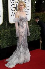 NICOLE KIDMAN at 74th Annual Golden Globe Awards in Beverly Hills 01/08/2017