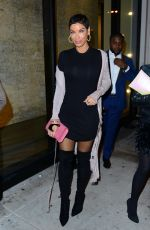 NICOLE MURPHY at Catch LA in West Hollywood 01/07/2017