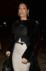 NICOLE MURPHY Out for Dinner in West Hollywood 01/03/2017
