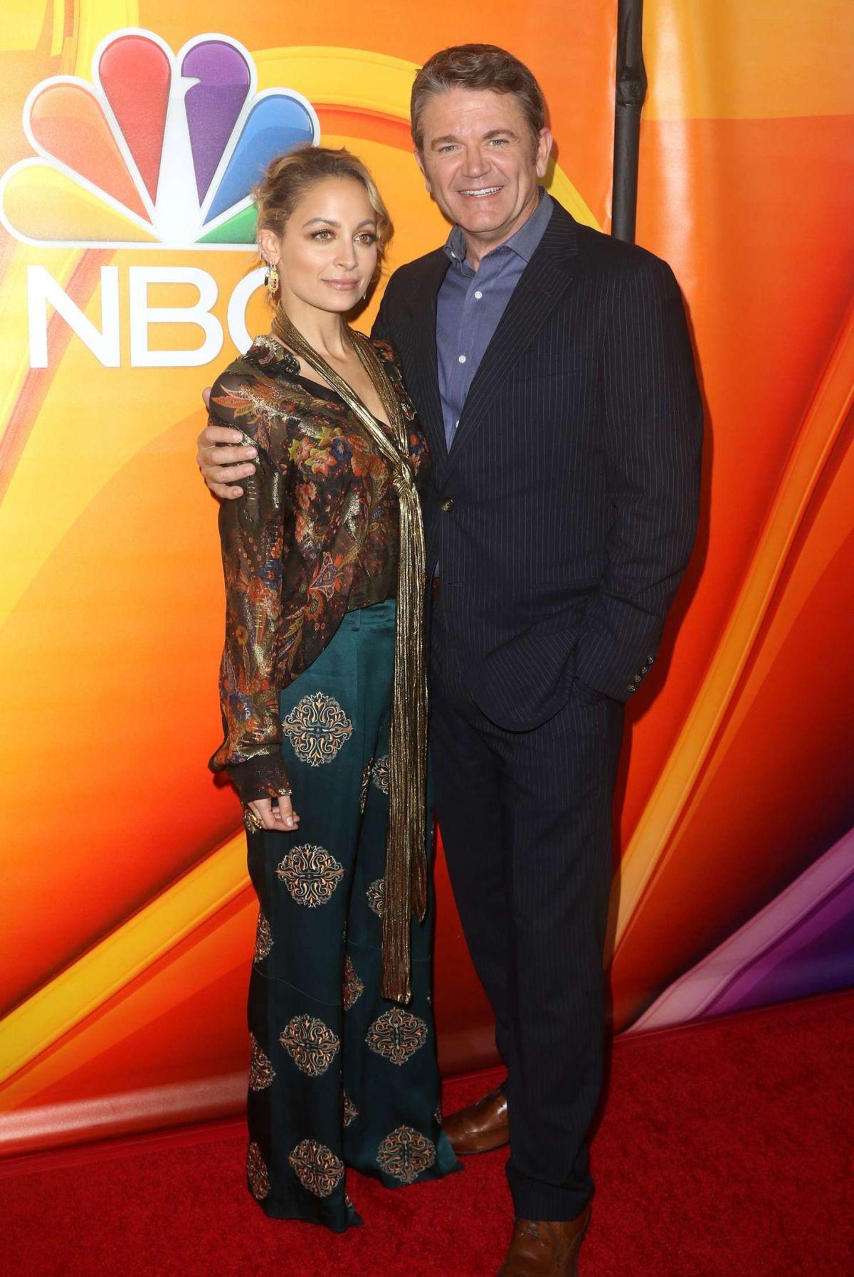 NICOLE RICHIE at NBC/U... Nicole Richie Split