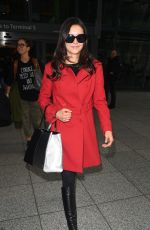 NINA DOBREV at Heathrow Airport in London 01/10/2017