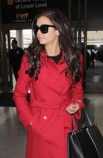 NINA DOBREV at Los Angeles International Airport 01/09/2017