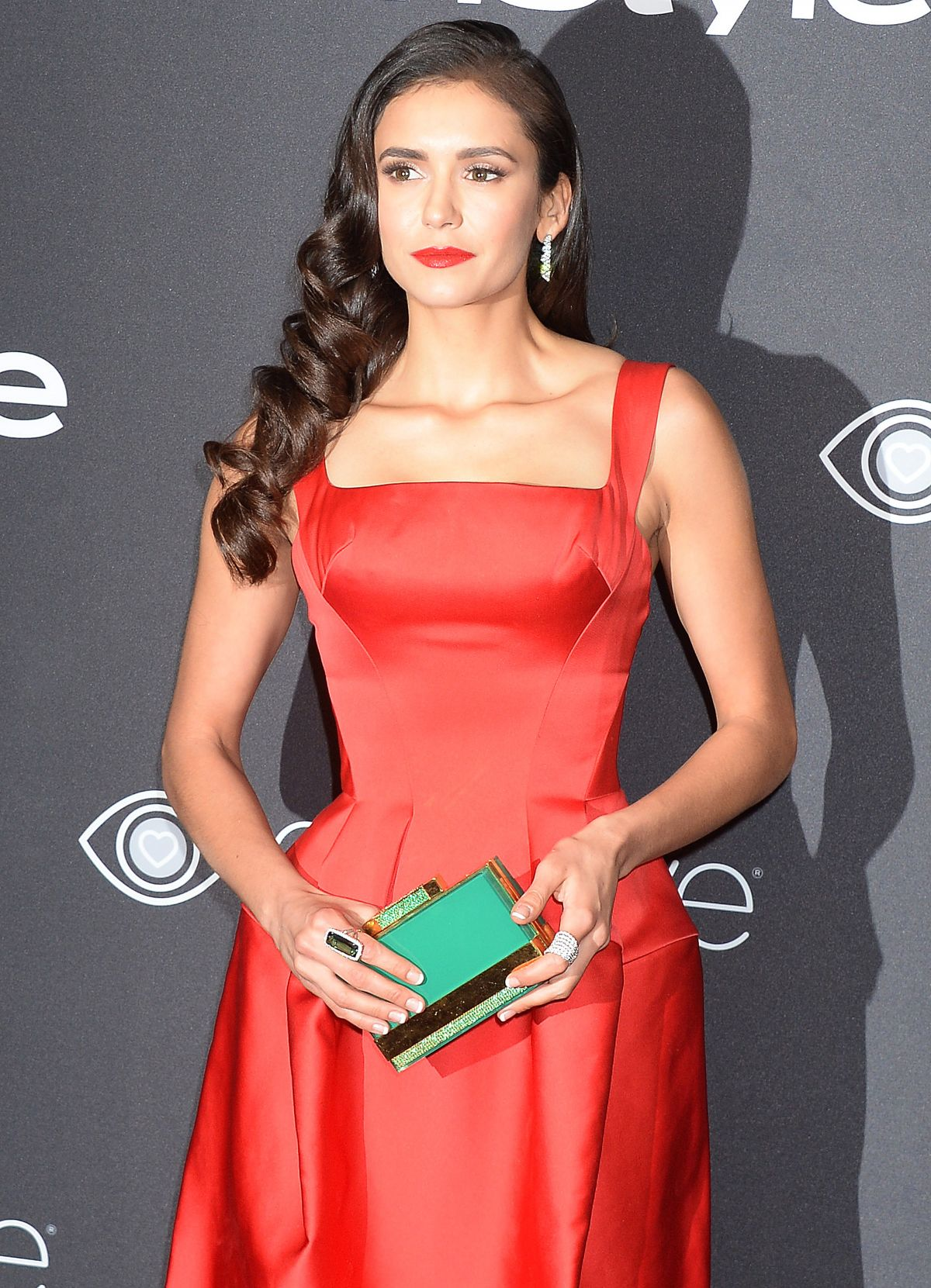 NINA DOBREV at Warner Bros. Pictures & Instyle's 18th Annual Golden Globes Party in Beverly Hills 01/08/2017