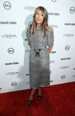 NINA GARCIA at Marie Claire's Image Maker Awards 2017 in West Hollywood 01/10/2017
