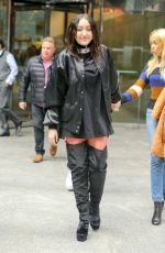 NOAH CYRUS Out and About in New York 01/26/2017
