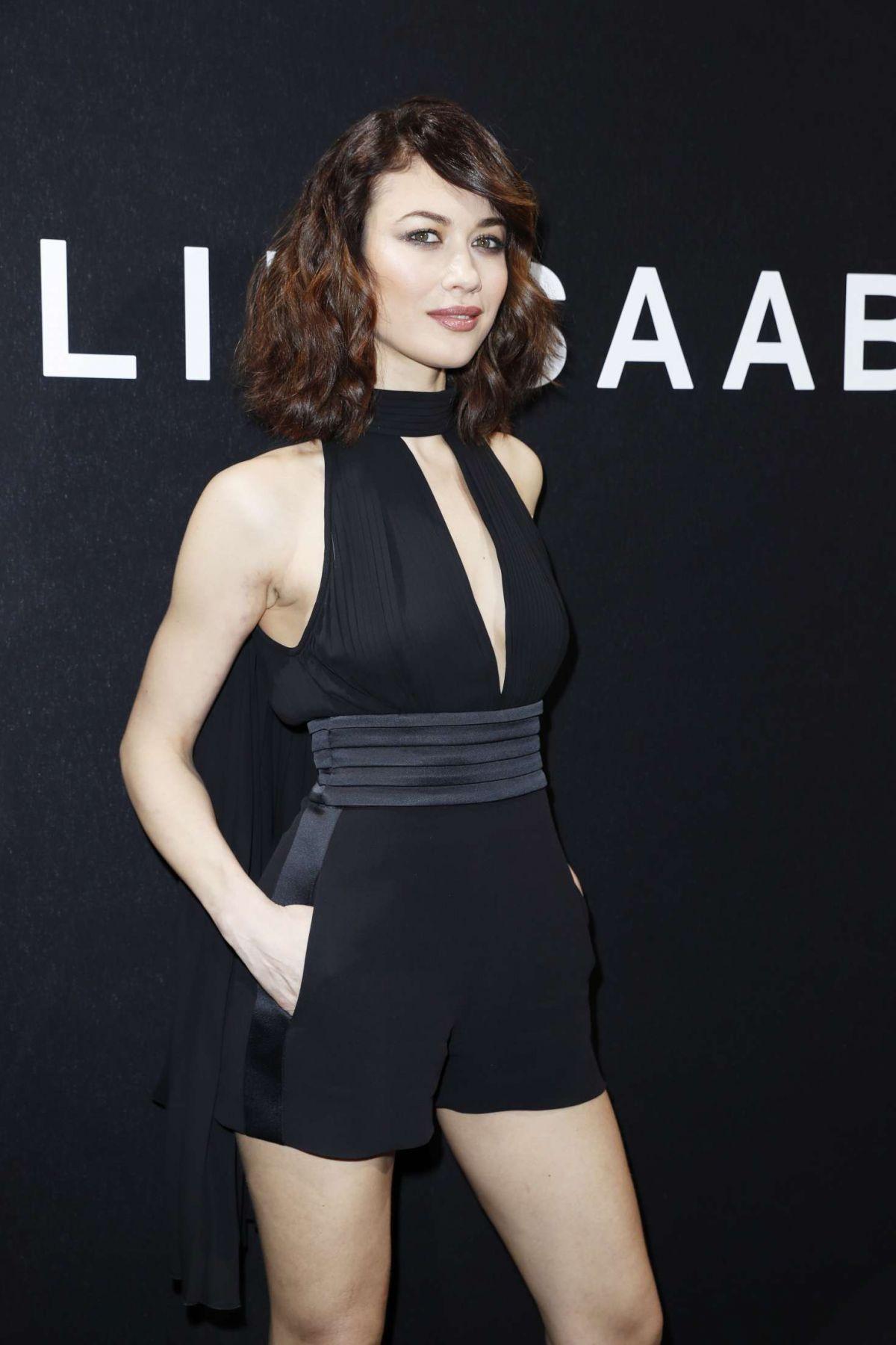 OLGA KURYLENKO at Elie Saab Fashion Show in Paris 01/25/2017
