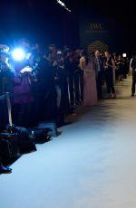 OLGA KURYLENKO at IWC Schaffhausen Decoding the Beauty of Time Gala Dinner in Geneva 01/17/2017
