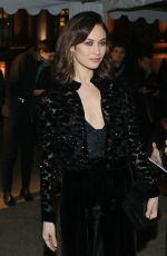 OLGA KURYLENKO at Sidaction Gala Dinner 2017 in Paris 01/26/2017