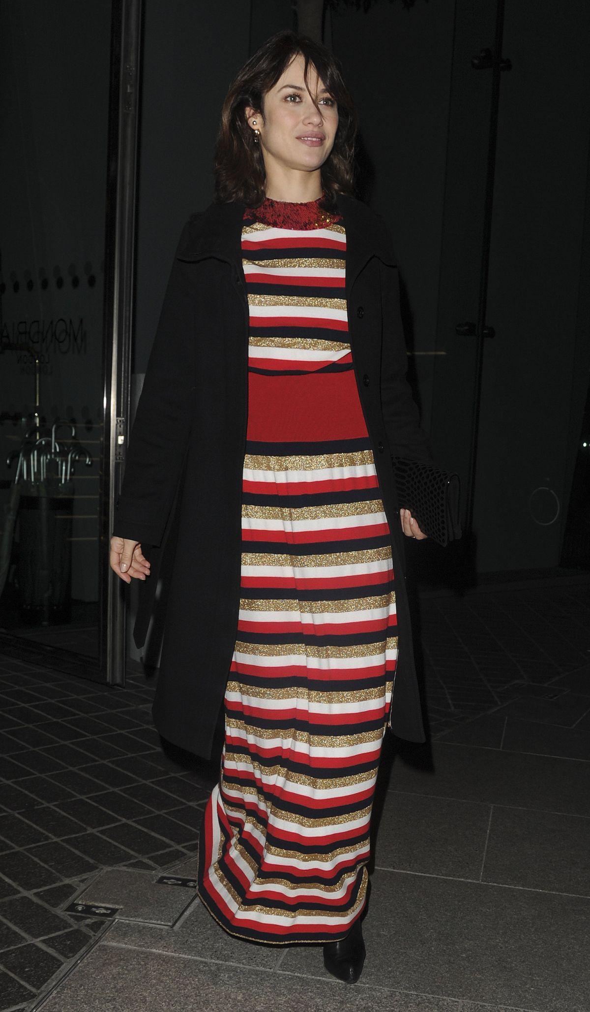 OLGA KURYLENKO at The Fall Magazine Launch Party in London 01/18/2017