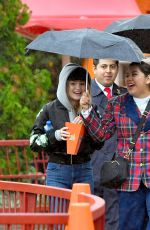 OLIVIA HOLT with Boyfriend at Disneyland in Anaheim 01/04/2017