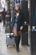 OLIVIA MUNN Out and About in New York 01/19/2017