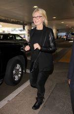 OLIVIA NEWTON JOHN at LAX Airport in Los Angeles 01/28/2017