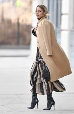 OLIVIA PALERMO Out and About in New York 01/04/2017