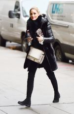 OLIVIA PALERMO Out and About in New York 01/10/2017