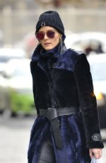OLIVIA PALERMO OUt in New York 01/05/2017