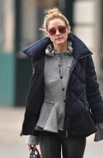 OLIVIA PALERMO Out in New York 01/20/2017