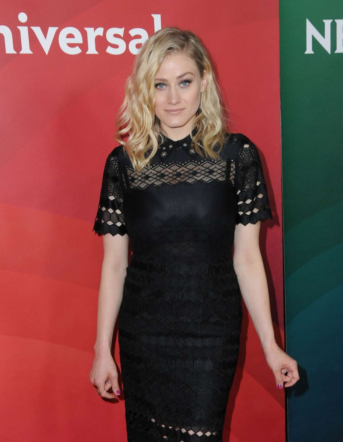 OLIVIA TAYLOR DUDLEY at NBC/Universal 2017 Winter TCA Press Tour in Pasadena 01/17/2017