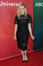 OLIVIA TAYLOR DUDLEY at NBC/Universal 2017 Winter TCA Press Tour in Pasadena 01/17/2017