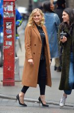 OLIVIA TAYLOR DUDLEY Out and About in New York 01/24/2017