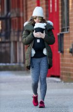 OLIVIA WILDE Out and About in New York 01/15/2017