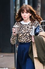 OPHELIA LOVIBOND Out in New York 01/30/2017