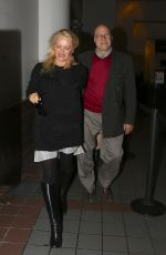 PAMELA ANDERSON at LAX Airport in Los Angeles 01/15/2017