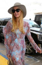 PARIS HILTON at LAX Airport in Los Angeles 01/06/2017