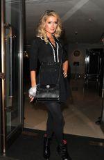 PARIS HILTON Leaves Mayfair Hotel in London 01/23/2017