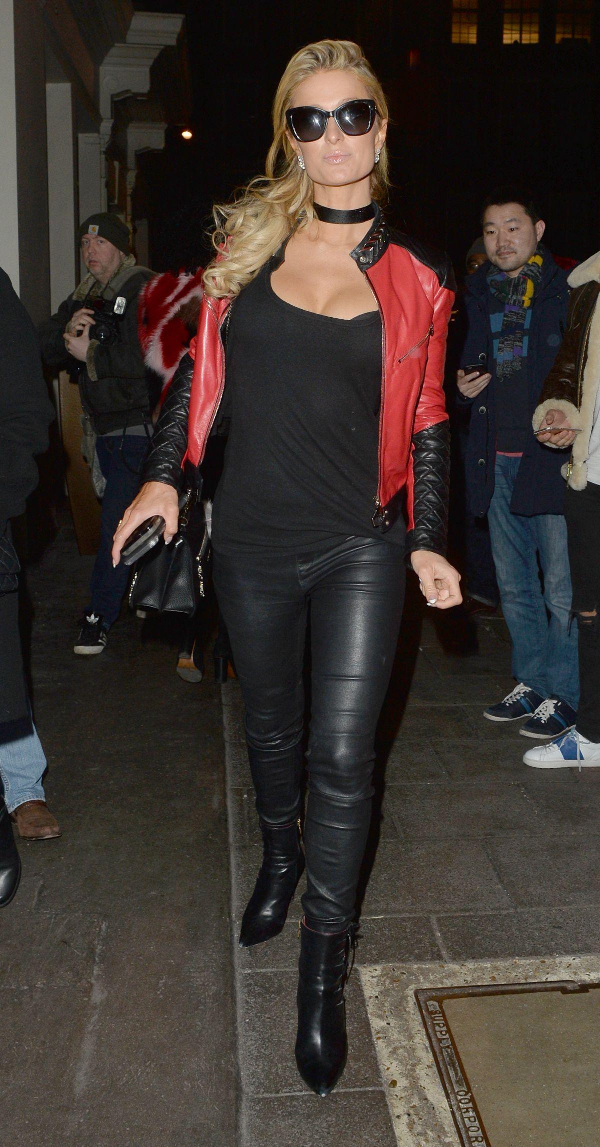 Paris Hilton Leaves Mayfair Hotel In London 01 24 2017