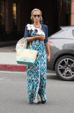 PARIS HILTON Out with Her Dog in Beverly Hills 01/03/2017