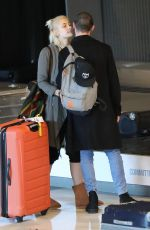 PARIS JACKSON at Charles De Gaulles Airport in Paris 01/17/2017