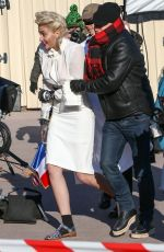 PARIS JACKSON on the aet of a Chanel Photoshoot in Paris 01/18/2017